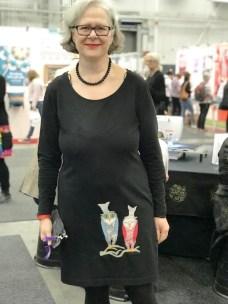 Bare elsker Lottas kjole - broderiene er fra FruBlomgren