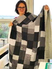 A quilter in the making