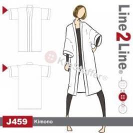 Line2Line har laget et helt klassik kimono mønster
