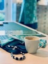 Den kreative prosess kan være en utfordring - en god kopp kaffe og en liten tenkepause må til for å bestemme hvordan designet skal bli