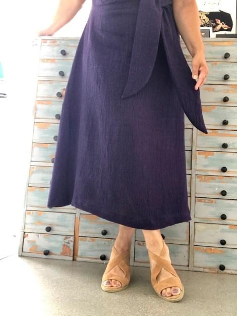 Kjolens lengde kan selvfølgelig varieres - denne gangen gikk jeg for midilengde