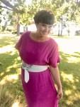 Moderat vidde i skjørtet sørger for at kjolen ikke virker for volumiøs