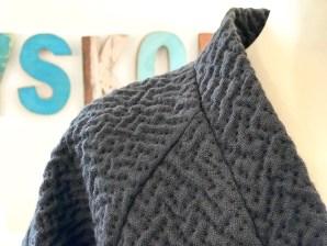 Om du er nybegynner er et raglanderme et godt alternativ om du vil sy en jakke - ermet faller flott over skulderen og er behagelig på