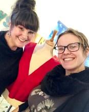 Vi har tidligere sydd gallakjole som et felles prosjekt - det er virkelig en god måte å ha mor/datter-tid på