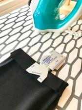 Legg opp leggingsene med coversømsmaskinen eller velg en overlocksøm på symaskinen