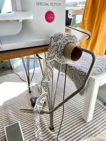 Jeg ruller alltid opp mine strimler på en dorull eller toalettpairrull