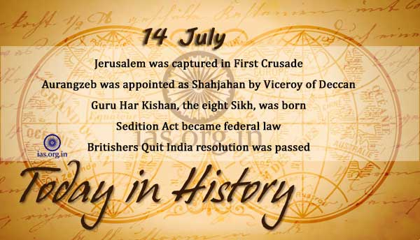 today in history 14 july