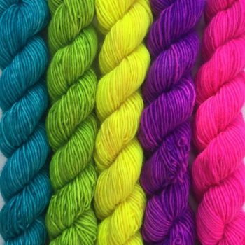 Merino Singles Mini Neon Gradients