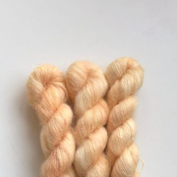 Sysleriget Silk Mohair Champagne