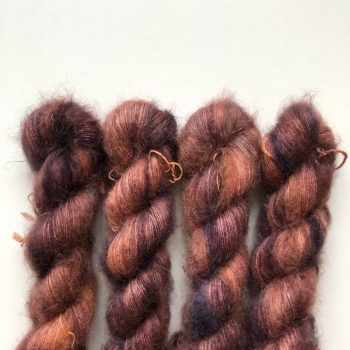Sysleriget Silk Mohair Dark Rose
