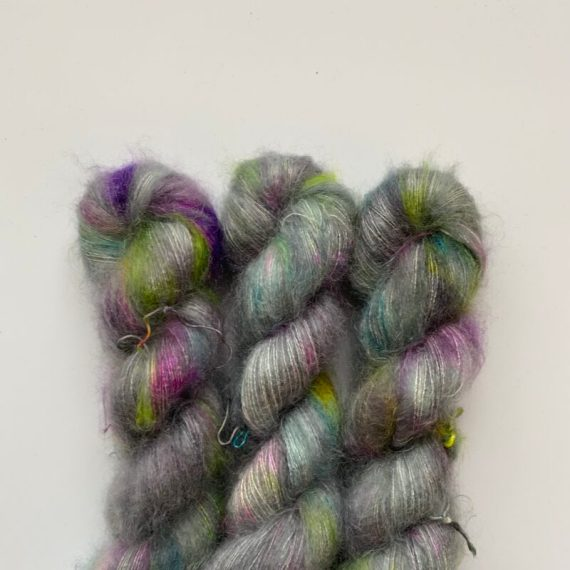 Silk Mohair Dark Side of the Unicorn Party