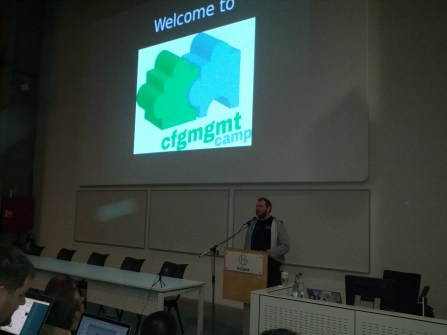 Kris Buytaert introduces this year's Config Management Camp