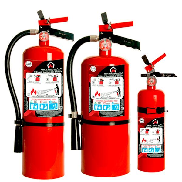 Extintores y equipos