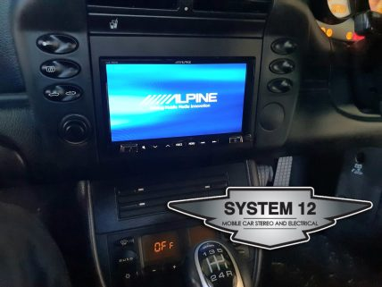 Alpine iLXE702 with Dash kit provided by Stinger Electronics Australia