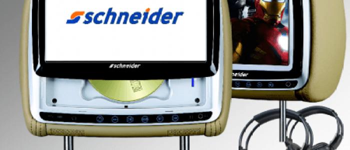 Schneider DVD headrests