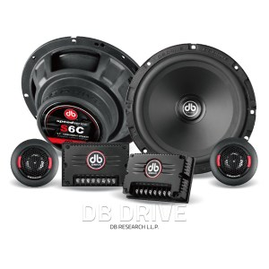 DB Drive S6C component speakers