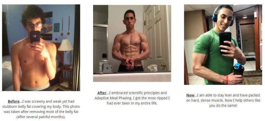 Skinny Fat Shred results