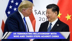 US Terminating Relationship With WHO (1)
