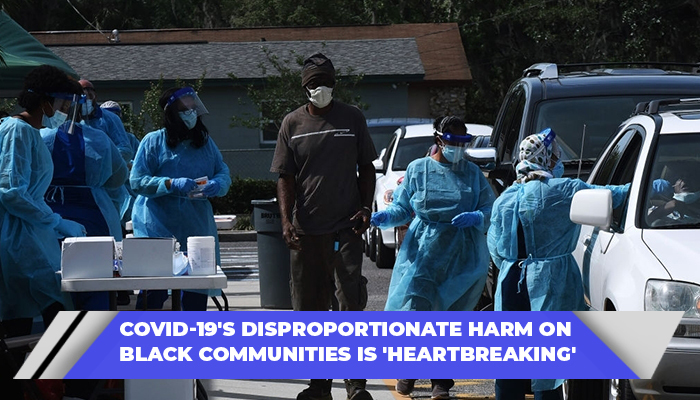 COVID-19's Disproportionate Harm On Black Communities Is 'Heartbreaking'