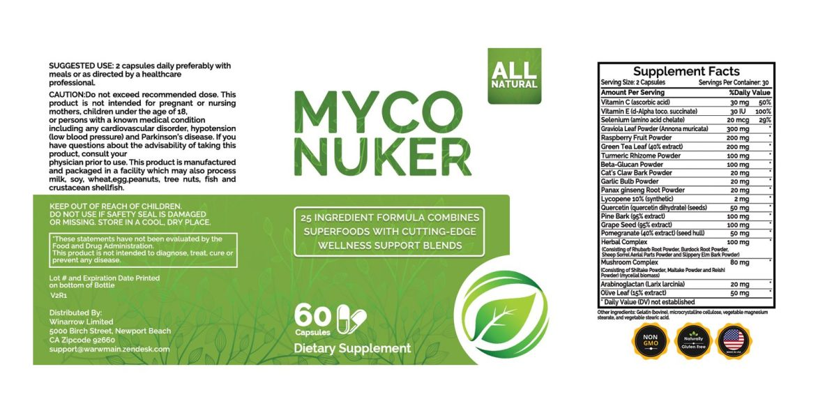 Organic Fungus Myco Nuker dosage