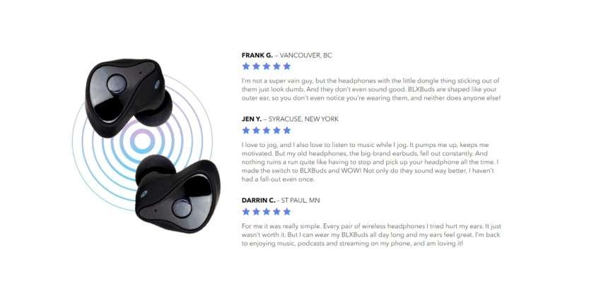 BLXBuds customer reviews