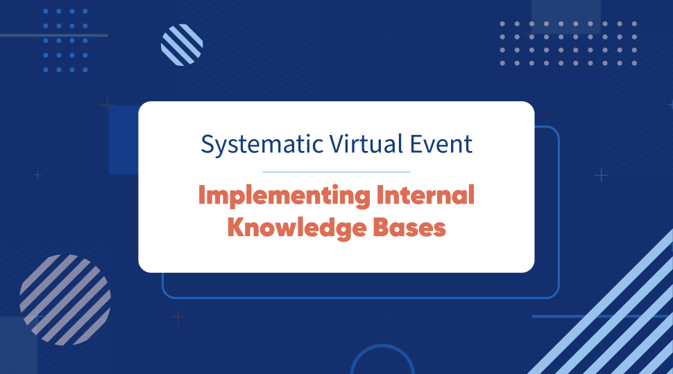 implementing internal knowledge bases