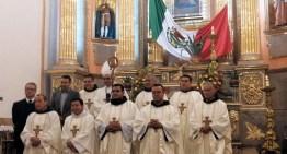 El Obispo Auxiliar Juan Espinosa, desea paz y bien a Acámbaro en su 493 Aniversario