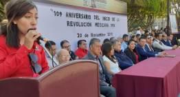 Celebraron los 109 años  del inicio de la Revolución Mexicana