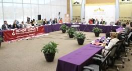 Legisladores se solidarizan  con familiares de personas desaparecidas
