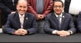 Se reúne Miguel Salim,  con integrantes de la CANACO León