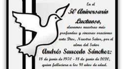 50 Aniversario Luctuoso: 1970-2020