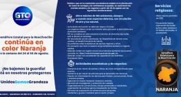 Se incorporan labores sociales a la reactivación con el Semáforo Naranja