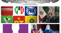 """El Inquisidor : Partidos políticos, entre conflictos internos.  ¡Sí habrá Grito!, el 15 de septiembre.  Can-dedotes Independientes, ¿empanizados?.  Grupos de """"Ayuda"""" o la avanzada de can-dedotes para el 2021."""