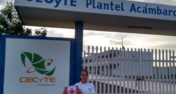 Alumna viajará a Canadá  por su buen desempeño académico