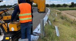 SICOM conserva señalamientos  y dispositivos de seguridad en carreteras
