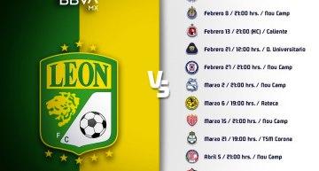 Calendario de la Fiera del León para el 2021