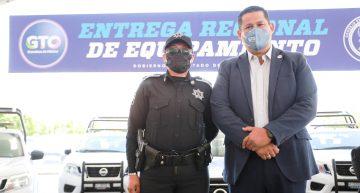 Tenemos que seguir avanzando  en materia de seguridad: Sinhue Rodríguez