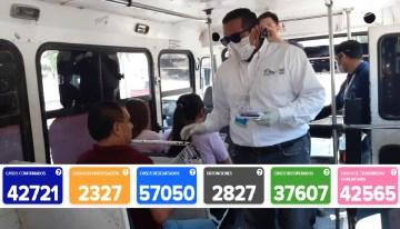 2,827 es el número de decesos que ha dejado el coronavirus en Guanajuato