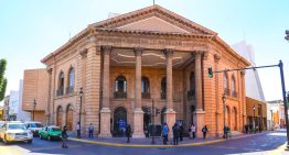 Entregan la primera etapa de rehabilitación del Teatro Manuel Doblado.