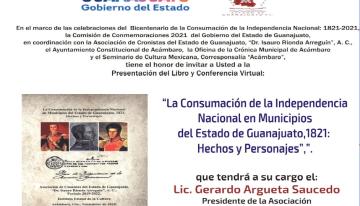 Presentan libro  sobre la Consumación de la Independencia: 1821