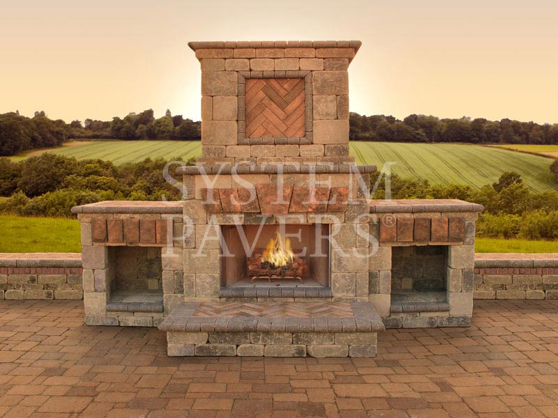 Outdoor Fireplaces Design Amp Installation Services System