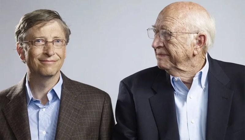 Bill Gates and his father, Bill Gates Sr. Credits: AARP
