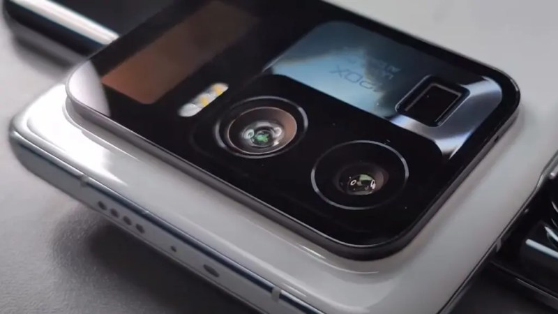 The photographic sector of Xiaomi Mi 11 Ultra. Source: Cellulari.it