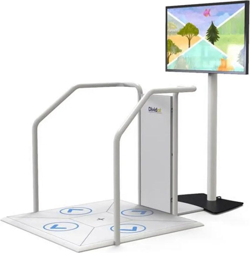 Using video games to combat dementia. Credits: Dividat