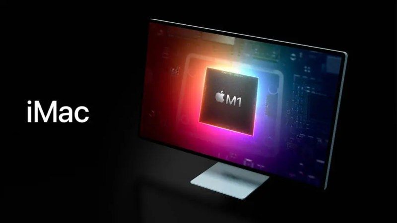 The new iMac is equipped with the M1 chip. Source: iSpazio