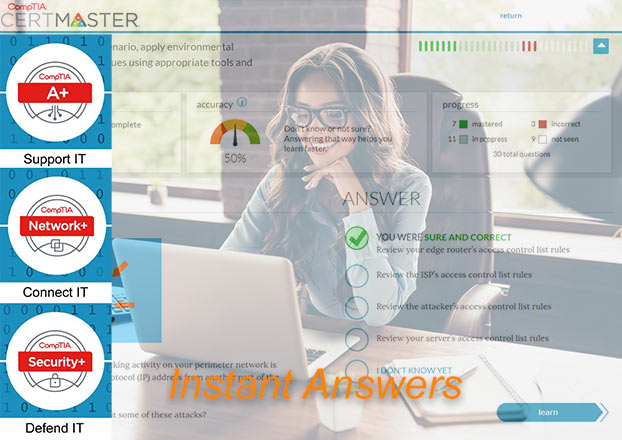 CertMaster Instant Answers
