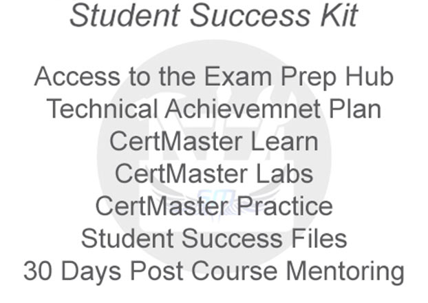 CertMaster Practice included in Systems Master Student Success Kit v2