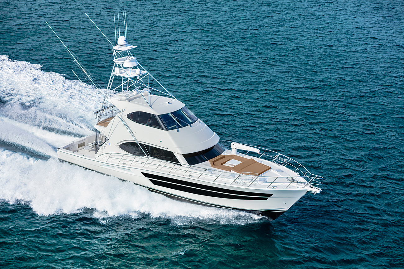 Riviera 77 Enclosed Flybridge For Sale SYS Yacht Sales