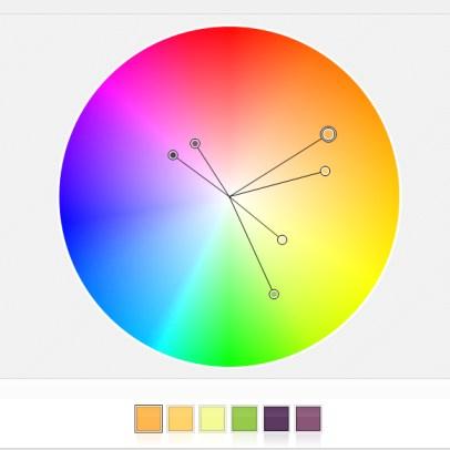 angled-accents, ein vorgeschlagenens Farbschema