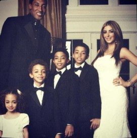 Scottie and Larsa have 4 children together. He has 3 additional kids from a previous relationship
